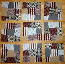 Chic Quilt Geek: Crazy Nine Patch Blocks & The first 9 blocks Adamdwight.com