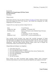 Surat Lamaran Kerja Kantor Pos Contoh Lamaran Kerja Dan Cv