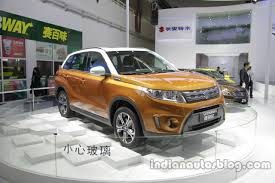 2018 suzuki vitara. modren 2018 2016 suzuki vitara front three quarters at auto china for 2018 suzuki vitara