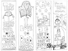 Bookmark Coloring Pages Bookmarks Coloring Pages Tamken Co