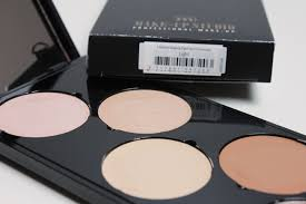 blush palette review and swatches tutorial shaping met het make up studio shaping box face it