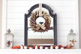 Small Picture Harvest Living Room Decor and a Giveaway Blesser House
