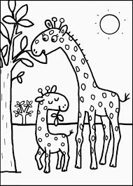 Vrac Coloriage Dessiner Girafe