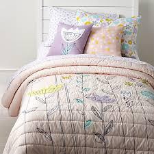 pastel fl bedding crate and barrel