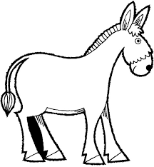 Small Picture Mexican Donkey Coloring Pages for Kids Color Luna