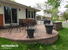 raised patio pavers. Cheap Raised Patio Ideas The Best Paver Steps Designs In Darien By Chicago With Concrete Porch Pavers
