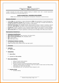 Current Resume Formats Examples Recent Format For Freshers Resumes