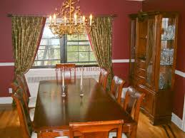dining room curtains. Drapes On Decorative Hardware For Dining Room Window In Long Island, Curtains D