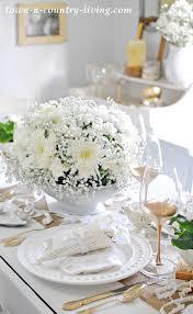 white table settings. Winter White Table Setting Settings E