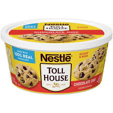nestle toll house chocolate chip cookie dough prev next description nutrition facts ings