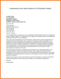 Bunch Ideas Of Cover Letter For Job Application Civil Engineer In