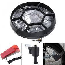 Ebay Bike Light Set Details About Head Tail Light Motorized Bike Bicycle Friction Generator Dynamo Led Accessories