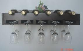 Special Nordic IKEA wood wine rack creative wine rack cup holder cup holder  decorative wall shelf