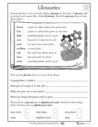 glossary for children text feature. Contemporary Glossary FREE First Grade Reading Worksheet Your Child Will Practice Using A  Glossary To Answer Questions On Glossary For Children Text Feature