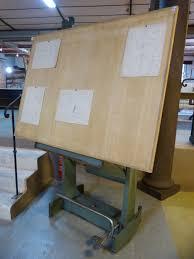 Table Dessin D Architecte Unic Table A Dessin Industriel Occasion L