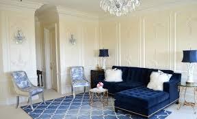 navy blue sofa living room