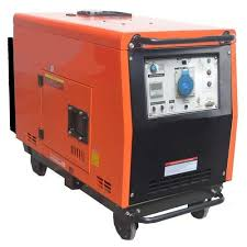 small portable diesel generator. 6.5 KW Portable DG Small Diesel Generator