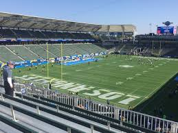 Los Angeles Chargers Seating Chart Dignity Health Sports Park Section 318 Los Angeles