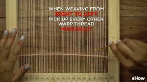 diy wooden frame weaving loom