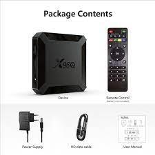 TV Box Android 10 X96Q Allwinner H313 Quad Core 4K 2.4G Wifi 1GB 8GB 2GB  16GB H.265 Media Player 3D Video TVBOX 2020 Set Top Box Sale, Price &  Reviews