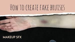 how to create fake bruises easy sfx