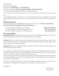Engineer Cover Letter Sample – Mycola.info