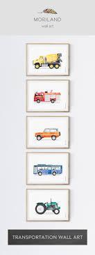 Printable Room Decor Best 25 Transportation Nursery Ideas On Pinterest