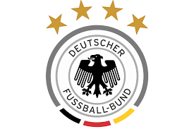 One day ahead of the european qualifier game in belarus, the german national team travelled to minsk. New 2014 Germany Dfb Team 4 Stars Logo Vector Image Football Marketing Xi