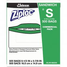 Ziploc Size Chart Ziploc 500 Piece 22 Oz Capacity 6 1 2 Inch Long X 6 Inch Wide Ziploc Sandwich Bag 76938885 Msc Industrial Supply