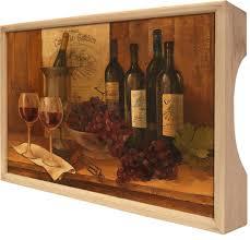 """<b>Поднос Gift'n'Home</b> """"<b>Винтажные вина</b>"""", 25 х 37,5 см — купить в ..."""