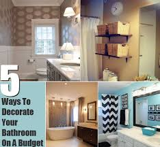 Ways To Decorate Your Bathroom On A Budget