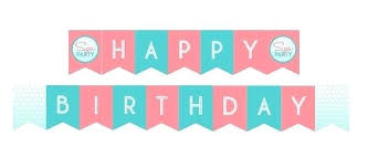 Happy Birthday Sign Templates Happy Birthday Banners Printable Template Tags Banner Templates Free