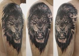 татуировки с именем лев фото