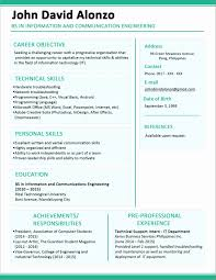 Resume Format For Freshers Computer Science Engineers Free Download resume format for freshers computer science engineers free 100 75
