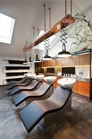 beauty salon lighting. un salon de coiffure atypique et branch beauty lighting