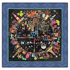 Best 25+ Custom quilts ideas on Pinterest | Machine quilting ... & Round the Garden Customized Quilt Kit! Linen & Wool Felt . Adamdwight.com