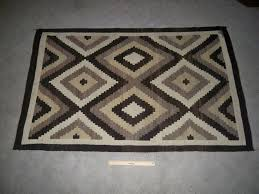 vintage american indian navajo two grey hills diamond antique navajo rugs