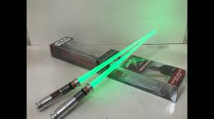 Lightsaber Chopsticks Light Up Star Wars Luke Skywalker Episode Vi Lightsaber Chopsticks Light Up Version Review