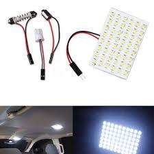 White Lamp Bulb Interior 48 SMD <b>T10 1210</b> 12V 5W Light Car ...