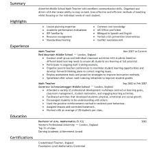 First Job Resume Template Templates Unforgettable For Simple Free ...