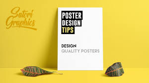Poster Layout Ideas How To Design A Quality Poster Poster Designing Tips Youtube