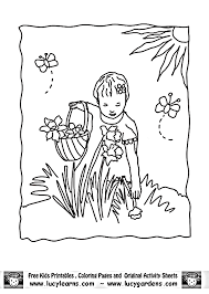 Small Picture Parts Of A Flower Coloring Page Coloring Home