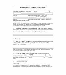 Printable Rental Agreement Template 26 Free Commercial Lease Agreement Templates Template Lab