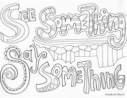 Sm is just making a very smart business move, by expanding their. No Bullying Coloring Pages Classroom Doodles