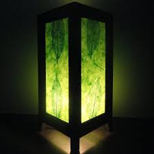 paper lighting. 1697 asian oriental new green leaves art bedside floor or table lamp paper light shades furniture lighting i