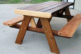 rustic picnic table plans wood rustic picnic tables plans kitchen design ideas on thrifty and chic