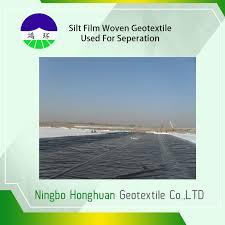 environmental split geotextile