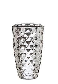 <b>Кашпо</b> для цветов <b>Mirror</b> Silver Scheurich 20 керамика Зеркальный