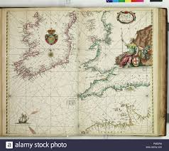 English A Chart Of The Sea Coasts Of England And