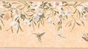 Floral Wall Paper Border KT8474B ...